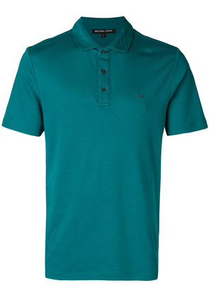 Michael Michael Kors logo-embroidered polo shirt - Green