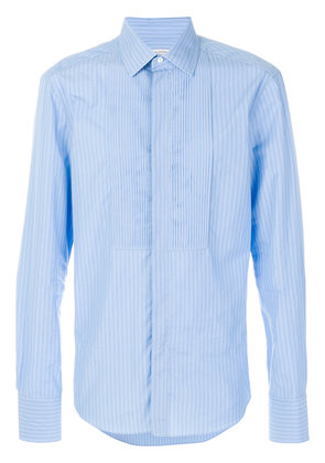 Valentino tonal striped shirt - Blue