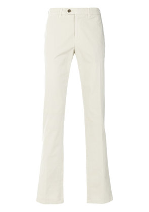 Canali classic chinos - Nude & Neutrals