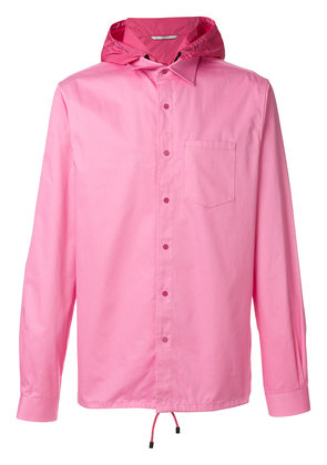 Valentino detachable hooded shirt - Pink & Purple