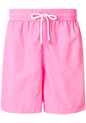 Polo Ralph Lauren embroidered logo swim shorts - Pink & Purple