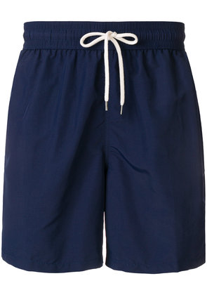 Polo Ralph Lauren embroidered logo swim shorts - Blue