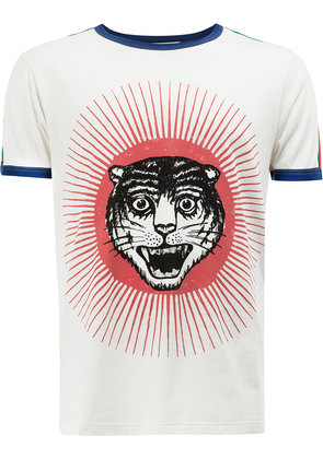 Gucci tiger print T-shirt - Multicolour