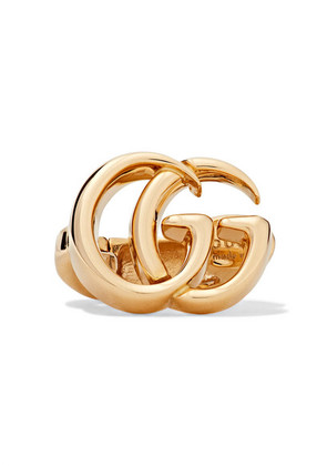 Gucci - 18-karat Gold Clip Earring - one size