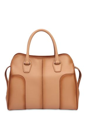 SMALL SELLA ANTIQUED SOFT LEATHER BAG