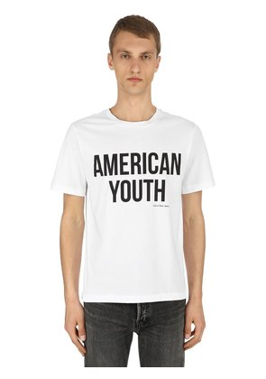 AMERICAN YOUTH COTTON JERSEY T-SHIRT