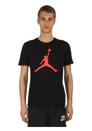 AIR JORDAN ICONIC JUMPMAN COTTON T-SHIRT