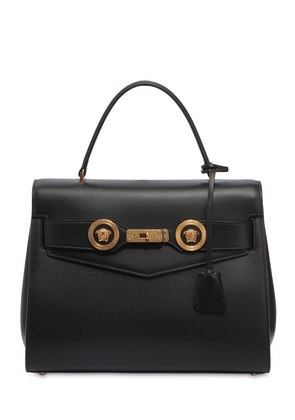 LADY D LEATHER TOP HANDLE BAG