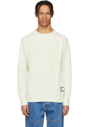 Thames Off-white Wool Tourist Sweater