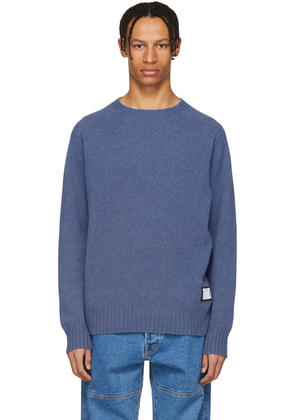 Thames Blue Wool Tourist Sweater