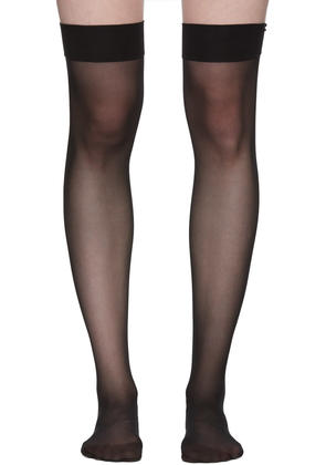 Wolford Black Individuel 10 Stockings