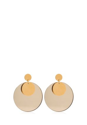 DOUBLE CIRCLE PLEXI EARRINGS