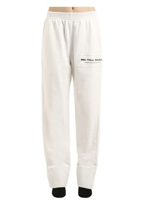 OVERSIZE LOGO COTTON SWEATPANTS