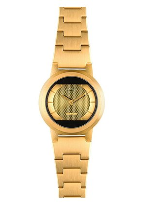 LIMITED EDITION RED SOLAR GOLD WATCH