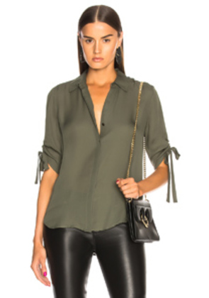 L'AGENCE Isa Top in Green
