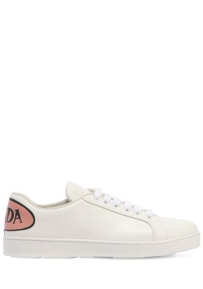 20MM LOGO PATCH LEATHER SNEAKERS