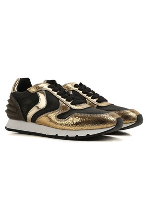 Sneakers for Women On Sale, Champagne, Leather, 2017, 2.5 3.5 4.5 7.5 Voile Blanche