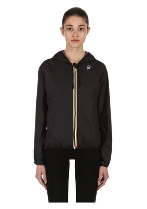 LILY HOODED JERSEY JACKET