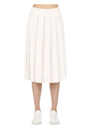 PLEATED MUSLIN SKIRT