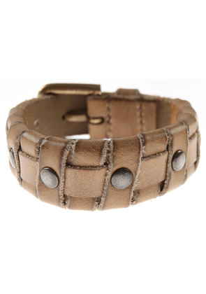 Dolce & Gabbana Bracelet for Men On Sale in Outlet, Sand, Leather, 2017, Small Large X-Large