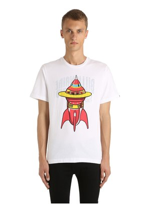 REVERSIBLE SPACESHIP & LOGO T-SHIRT