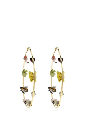 BIG HOOP EARRINGS WITH ANIMALS FOR LVR
