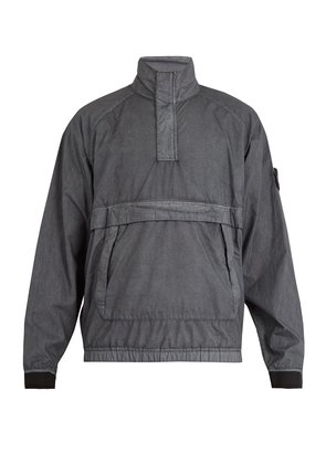 Kangaroo-pocket jacket