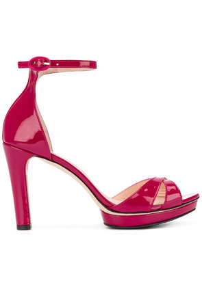 Repetto ankle strap platform sandals - Pink & Purple
