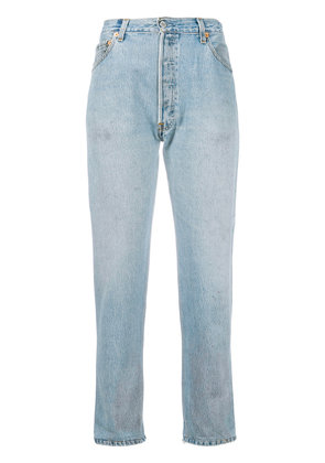 Re/Done Re/Done x Levi's high waist jeans - Blue