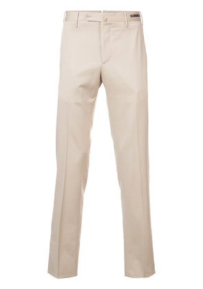Pt01 slim-fit trousers - Nude & Neutrals