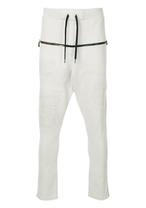 RH45 fitted track trousers - Nude & Neutrals