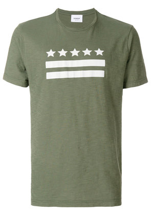 Dondup stars and stripes T-shirt - Green