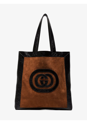 Gucci Ophidia suede large tote