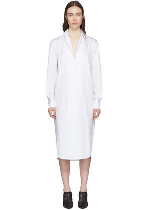 Olivier Theyskens White Tamise Shirt Dress
