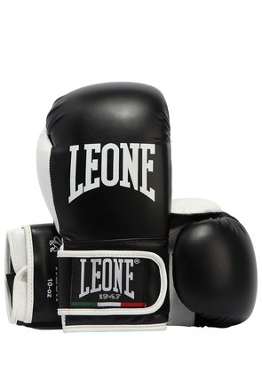 10OZ FLASH FAUX LEATHER BOXING GLOVES