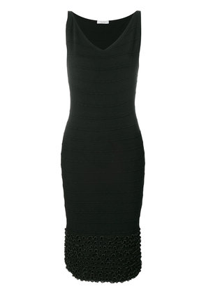 v-neck fitted dress - Unavailable D.exterior Discount Best Sale Official Site Cheap Price Z5kddWHf
