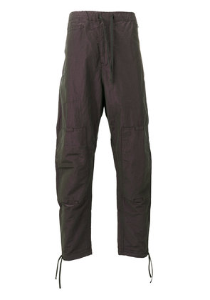 Stone Island Shadow Project iridescent effect loose-fit trousers -
