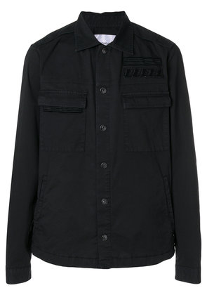 Dondup classic fitted jacket - Black