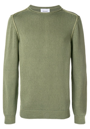 Dondup long-sleeve fitted sweater - Green
