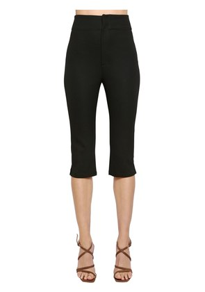 LE CORSAIRE STRETCH CROPPED PANTS