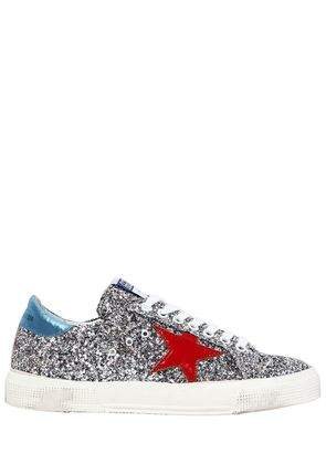 20MM MAY GLITTER & PATENT SNEAKERS