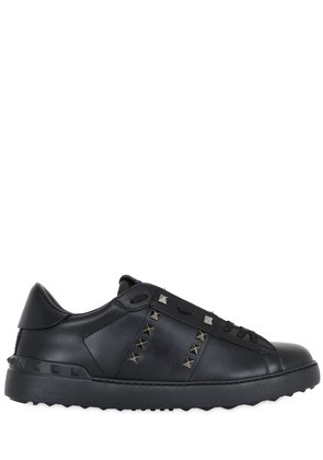 UNTITLED ROCKSTUD LEATHER SNEAKERS
