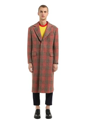 VIRGIN WOOL PRINCE OF WALES COAT