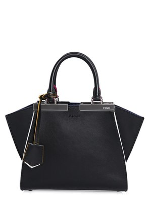 MINI 3JOURS CONTRASTING EDGE LEATHER BAG