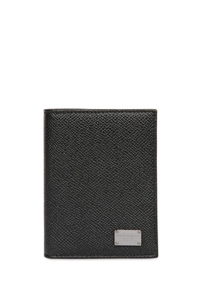 DAUPHINE LEATHER FOLDED CARD HOLDER