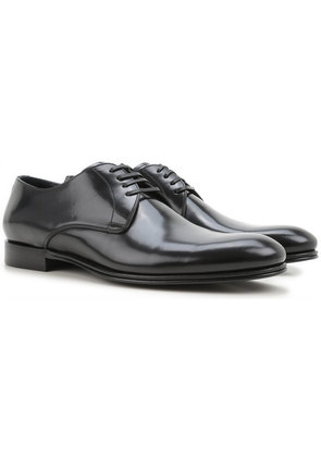Dolce & Gabbana Oxford Shoes for Men On Sale, Black, Leather, 2017, 7.5 9