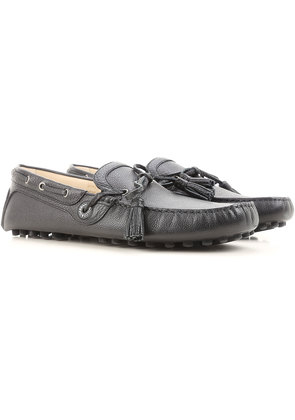 Loafers for Men On Sale, Ebony, Leather, 2017, 6.5 6.75 7 8.5 9.25 9.5 Dolce & Gabbana