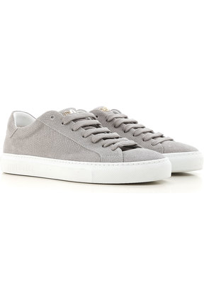 Sneakers for Women On Sale, Grey, Leather, 2017, 3.5 4.5 5.5 6.5 7.5 Hide&Jack