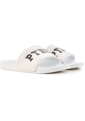 Pyrex Sandals for Women, White, Rubber, 2017, 3.5 4.5 5.5 6.5 7.5