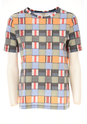 Tory Burch T-Shirt for Women On Sale in Outlet, Multicolor, polyester, 2017, 6 8